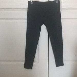 Dark grey leggings
